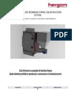 Caldera de biomasa para calefaccion  DTH30