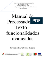 Manual Word Avançado 2007 IEFP