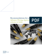 Apa India Recommendations for a Model June2011