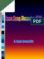 Focus Group Discusion