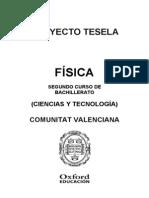 Programacion Tesela Fisica 2 BACH Comunidad Valenciana