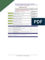 Programm PSO Tagung