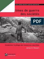 Crimes de guerre des sociétés