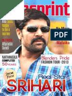 Tollywood Cine Magazine | Indian Film Magazine | Cinesprint Magazine | Cinesprint Volume 2 Issue 6 | Andhrawishesh
