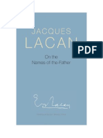 Jacques Lacan - On the Names of the Father