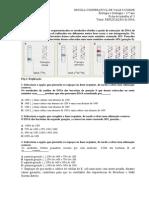 FICHA DE TRABALHO Nº 3 DNA - REPLICAÇÃO