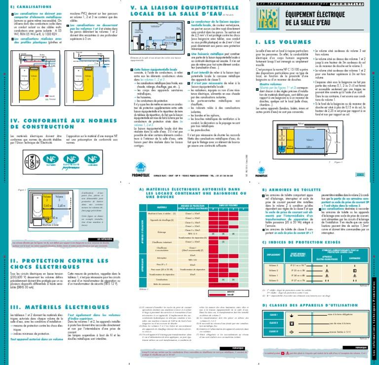 Norme Installation Electrique Salle De Bains Pdf Transformateur