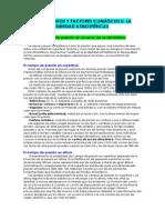Tema 3 Elementos y Facores Climaticos II. La Presion y La Humedad Atmosferica - Copia