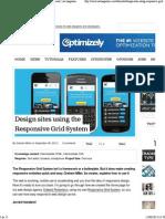 Design Sites Using the Responsive Grid System _ Tutorial _