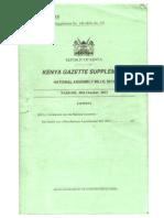 Draconian Miscellaneous Amendment Act, 2013