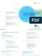 EIT Alumni Connect Event and Awards Agenda
