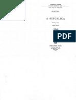 Platão -  A República - Vol II (Do V ao X livro)