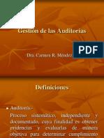 Gestión de las Auditorías