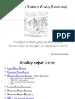 Komputerowe Systemy Analizy Konstrukcji
