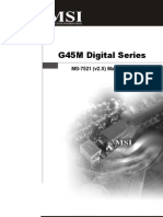 Mainboard MSI G45M Digital