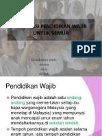 Implikasi pendidikan wajib di Malaysia.pptx