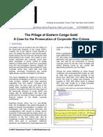 Stop Pillage - OSJI/CAP Briefing Report