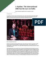 Ozi Amanat and Pangaea India