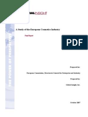 Case Study 2 Pdf Cosmetics Purchasing Power Parity
