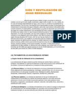 DEPURACIÓN Y REUTILIZACIÓN DE AGUAS RESIDUALES.doc