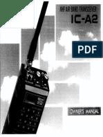 Air Band Transceiver ICOM - IC-A2