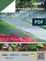 Catálogo SercoRiego 2013