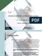 Albaladejo y Sánchez - Guía para la elaboración y presentación de un ensayo
