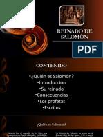 REINADO DE SALOMÒN