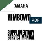 Badger Supplemental Service Manual