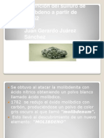 Obtencion Del Molibdeno Juan Gerardo Juarez Sanchez