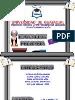 Trabajo de Estrategia Planificacion Universidad de Guayaquil Para Video