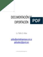 Documentacion de Exportacion