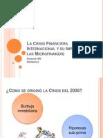 02 La Crisis Financiera Internacional y Su Impacto en Las Microfinanzas