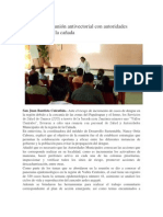 21/10/13 oaxaca digital Realiza SSO reunión antivectorial con autoridades municipales de la cañada