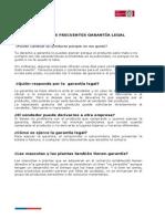 Preguntas Frecuentes Sernac Garantia Legal (1)