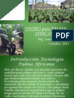 VIVERO para PALMA AFRICANA  Noviembre 2013 SWE-CA, S.pdf