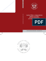 Documento Defensorial 6 Justicia Militar