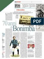 70 anni da Bonimba di Gianni Mura