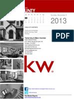 Fairfax County Market Report Nov 3 2013