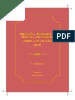 G.W.Hegel-PrefácioàfilosofiadareligiãodeHinrichs
