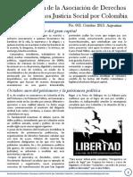 Boletin 3 de Derechos Humanos. Octubre2013