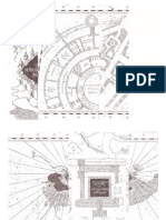 Printable White Marauders Map PDF