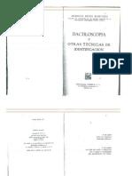 Arminda Reyes Martínez - Dactiloscopía y Otras Técnicas de Investigación