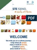 "Complete catalog of exhibitors in ""Taste Israel"" pavilion at Kosherfest 2013"