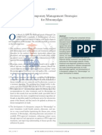 Contemporary Management Strategies for Fibromyalgia