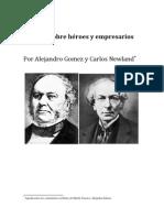 Alberdi, sobre héroes y empresarios, por Alejandro Gomez y Carlos Newland