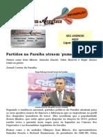 Partidos na Paraíba atraem 'puxador de voto'