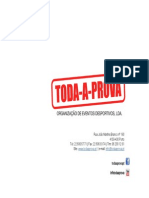 Toda a Prova | Apresentação 2013-2014