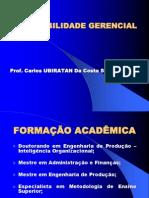 Contabilidade Gerencial Extra Mba 2007