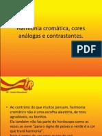 2012 - Artes - Fabíola - 8º ano - Harmonia cromática